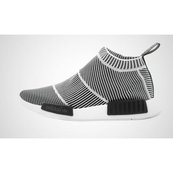 Adidas NMD City Sock Primeknit (Weiß/Schwarz) Cor...