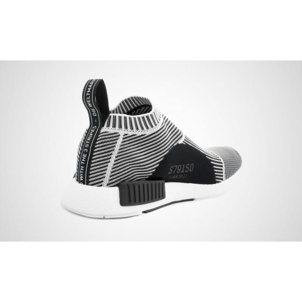 Adidas NMD City Sock Primeknit (Weiß/Schwarz) Core Schwarz/VINWHT/FTWWHT S79150